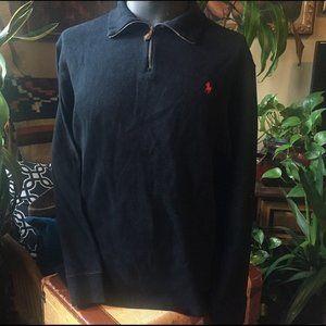Vintage Ralph Lauren Polo Zip-up Collar Sweater